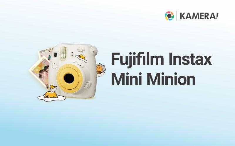 Kamera Langsung Cetak - Fujifilm Instax Mini Gudetema Edition