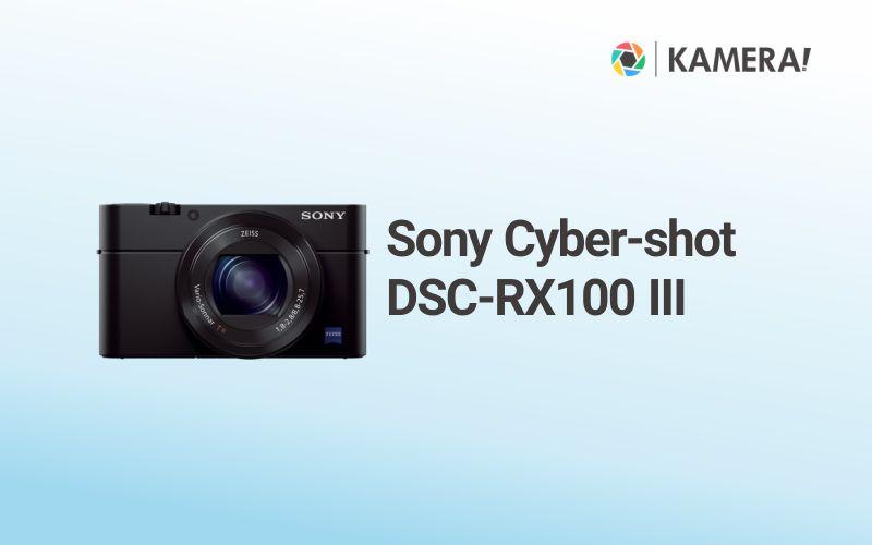 Sony Cyber shot DSC RX100 III